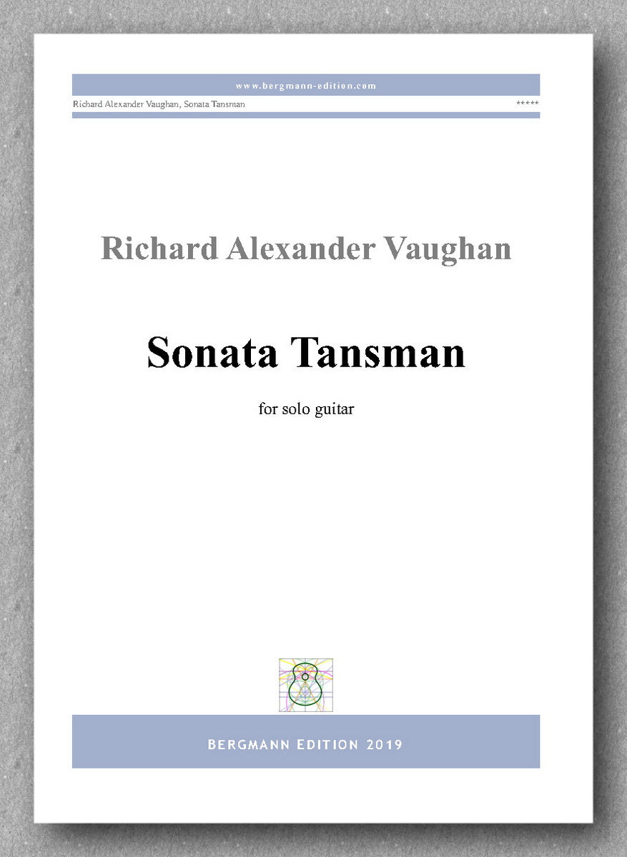 Richard Alexander Vaughan, Sonata Tansman - previev of the cover