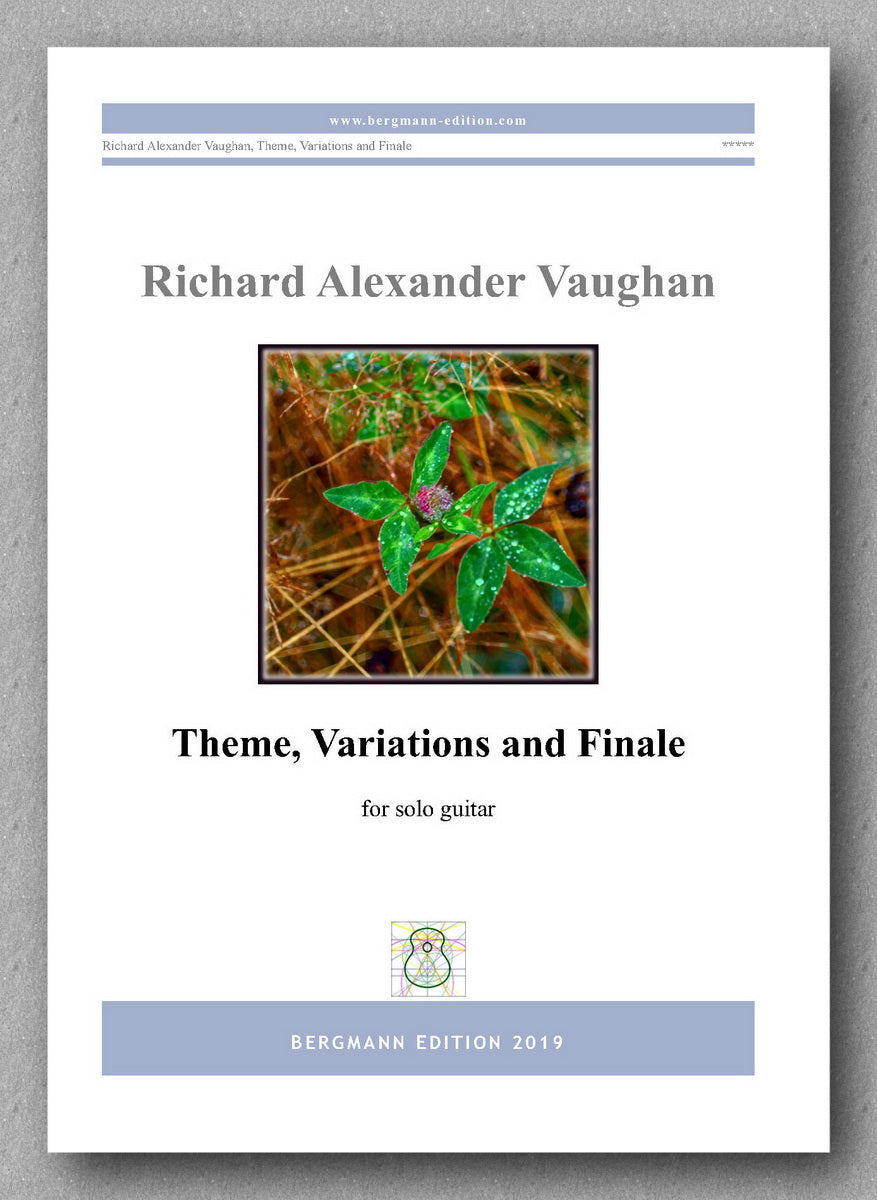 Richard Alexander Vaughan, Theme, Variations and Finale - preview of the cover