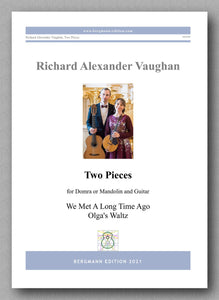 Vaughan, Two Pieces - cover