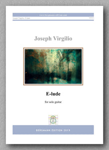 Joseph Virgilio, E-lude - preview of the cover