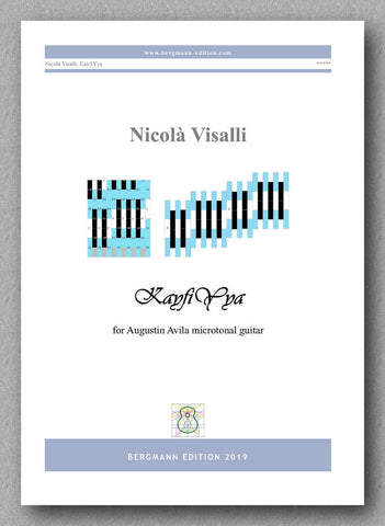 Nicolà Visalli, KayfiYya - preview of the cover
