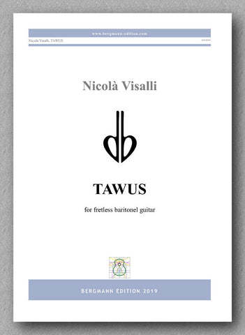 Nicolà Visali, TAWOS - preview of the cover