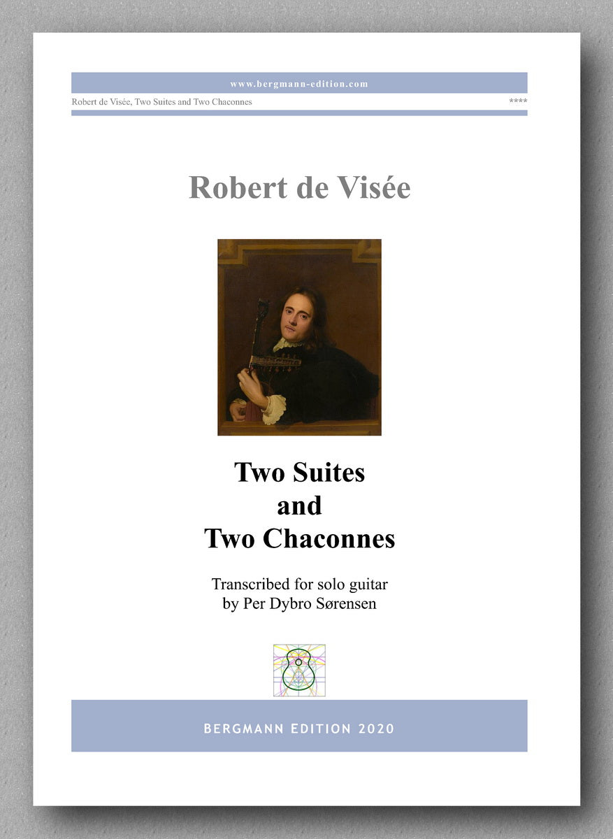 Robert de Visée, Two Suites and Two Chaconnes - Preview of the cover