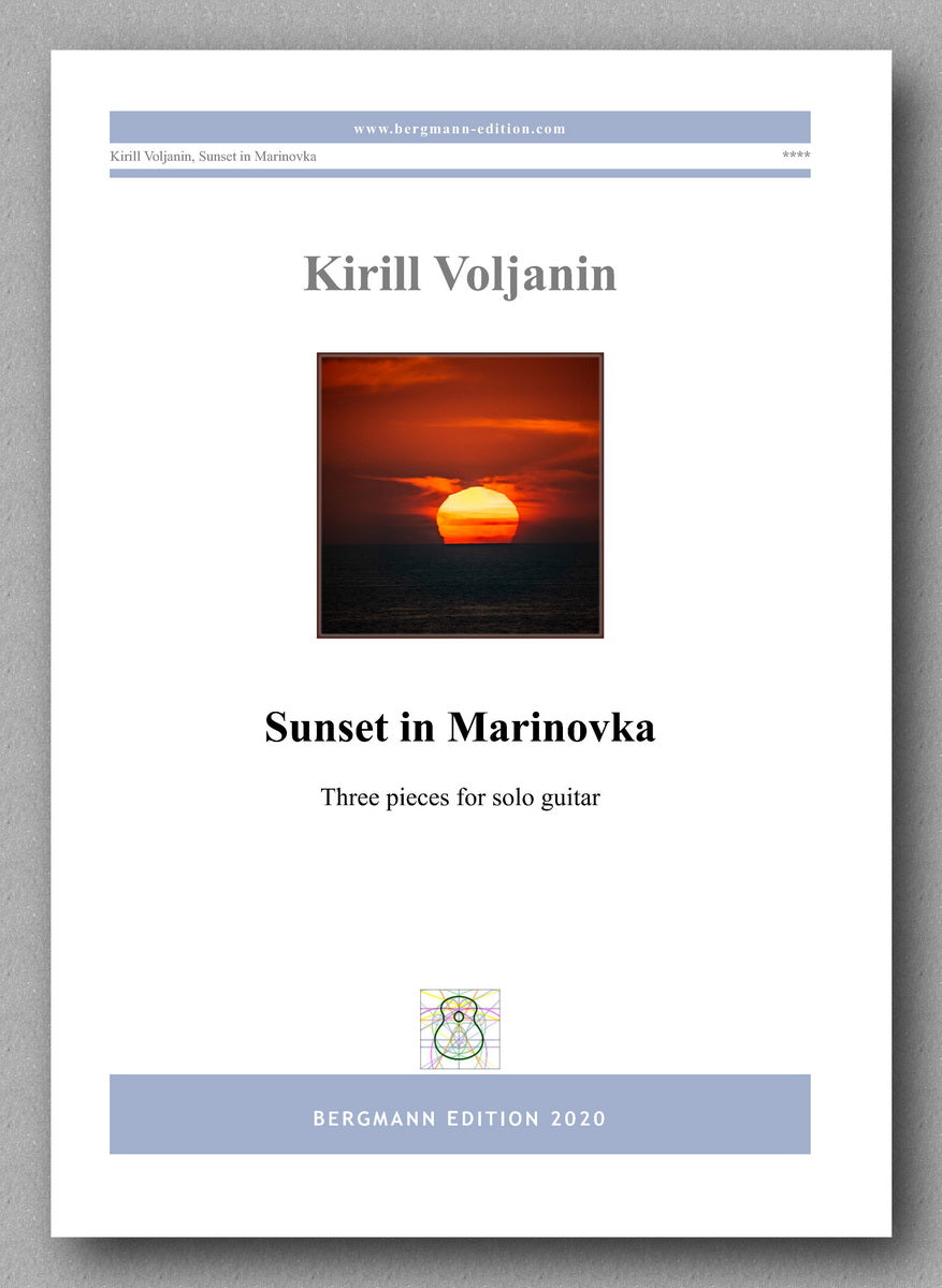 Kirill Voljanin, Sunset in Marinovka - cover