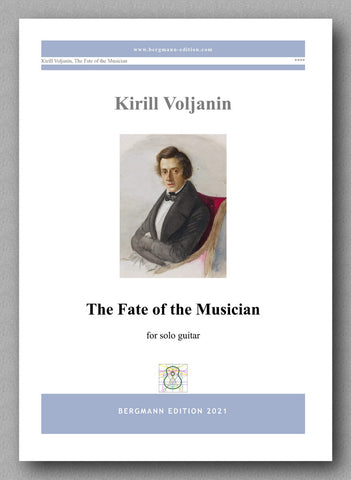 Kirill Voljanin, The Fate of the Musician  - Cover