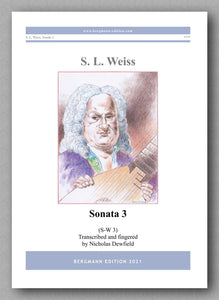 Weiss-Dewfield, Sonata No. 3 - cover
