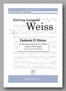 Weiss-Oliveira, Fantasie D Minor - cover