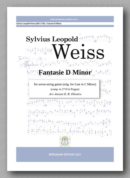 Weiss-Oliveira, Fantasie D Minor (7 strings) - cover