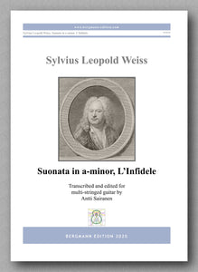 Sylvius Leopold Weiss (1687-1750), Suonata in a, L'Infidele - preview of the cover
