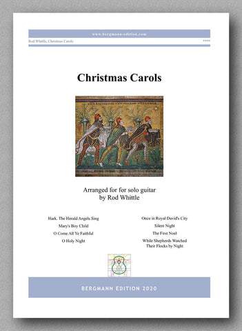 Whittlw, Christmas Carols - preview of the cover