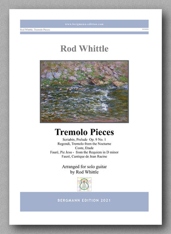 Whittle, Tremolo Pieces - cover