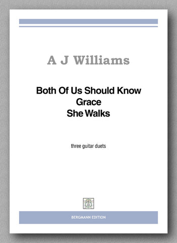Williams, Both Of Us Should Know, Grace, She Walks - preview of the cover