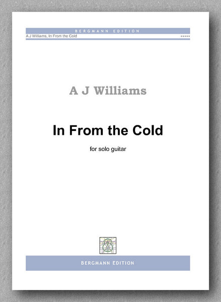Andrew Williams, In From the Cold - preview of the cover