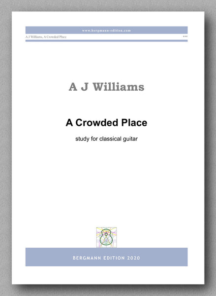 Andrew Williams, A Crowded Place - preview of the cover