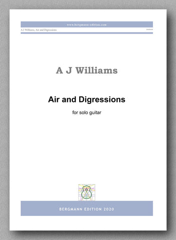 Andrew Williams, Air and Digressions - preview of the cover