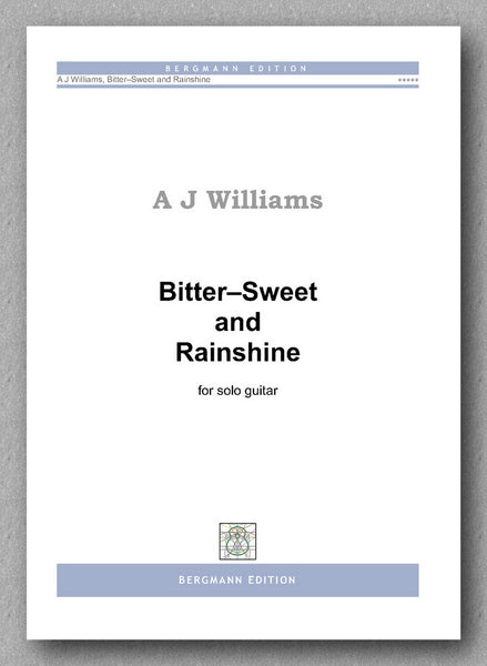Andrew Williams, Bitter–Sweet and Rainshine - preview of the cover