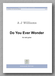Williams, Do You Ever Wonder - preview of the cover