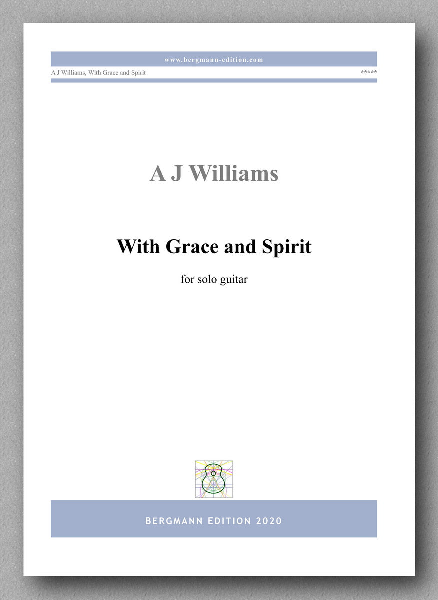 With Grace and Spirit - cover