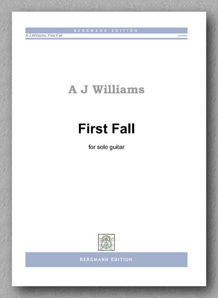 Andrew J Williams, First Fall - preview of the cover