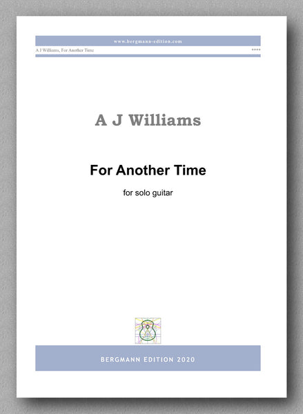 Williams, For Another Time - preview of the cover