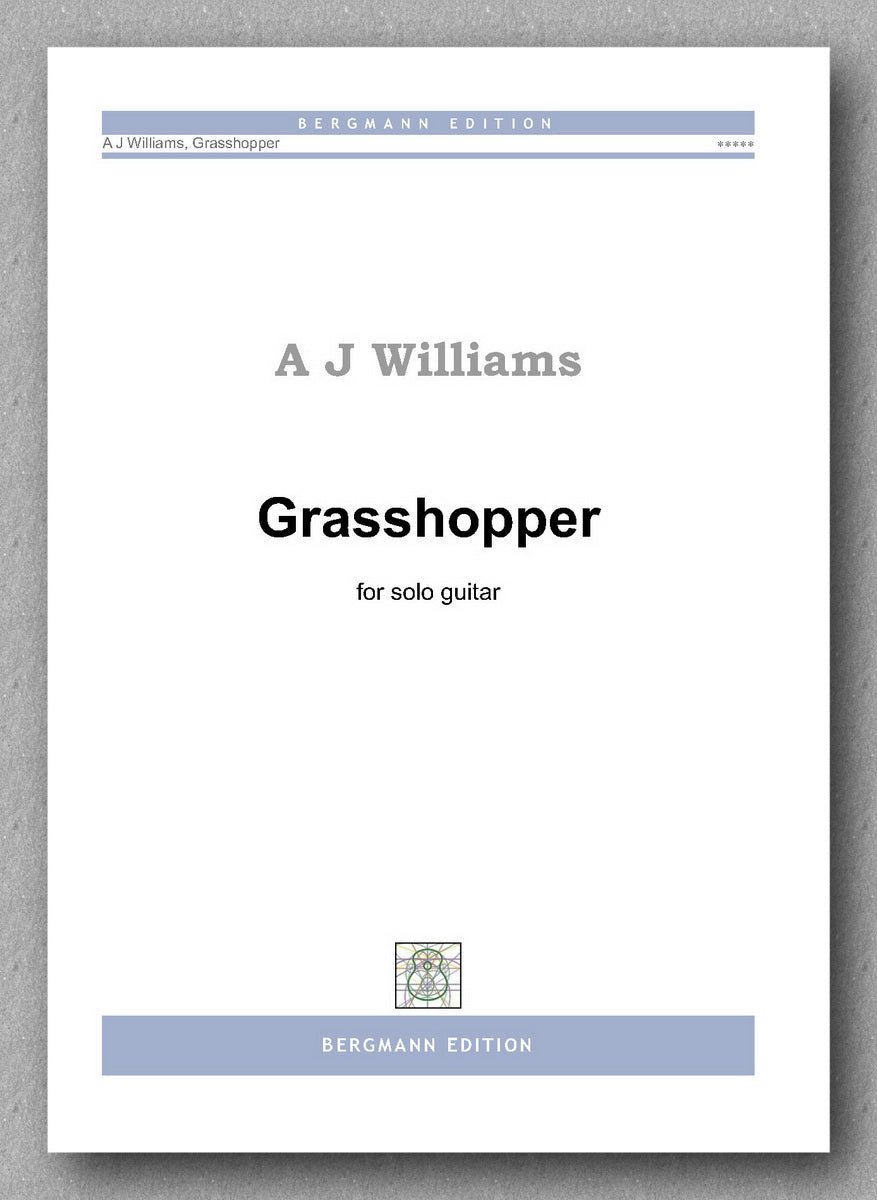 Andrew Williams, Grasshopper - preview of the cover