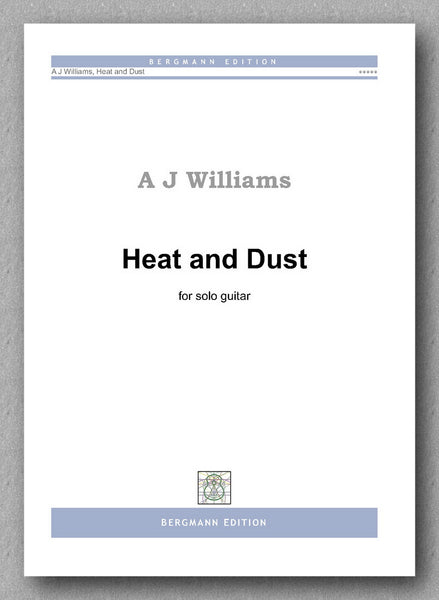 Andrew Williams, Heat and Dust - preview of the cover