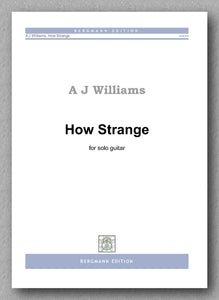 Williams, How Strange - preview of the cover