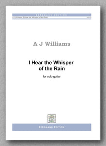Andrew Williams, I Hear the Whisper of the Rain - preview of the cover
