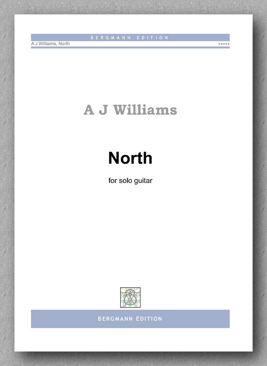 Andrew Williams, North - preview of the cover