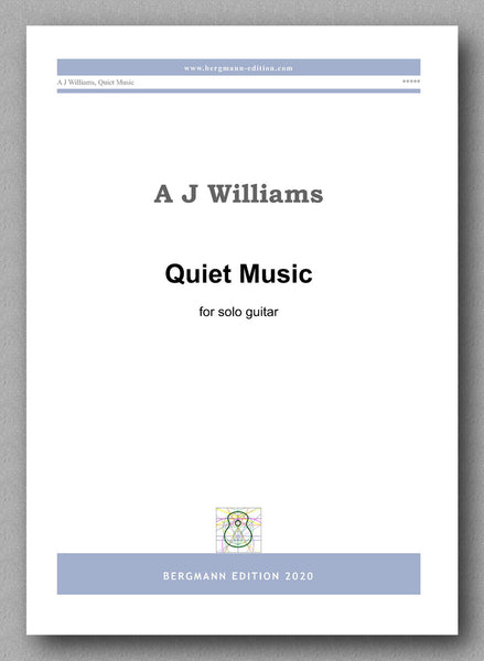 Andrew Williams, Quiet Music - preview of the cover