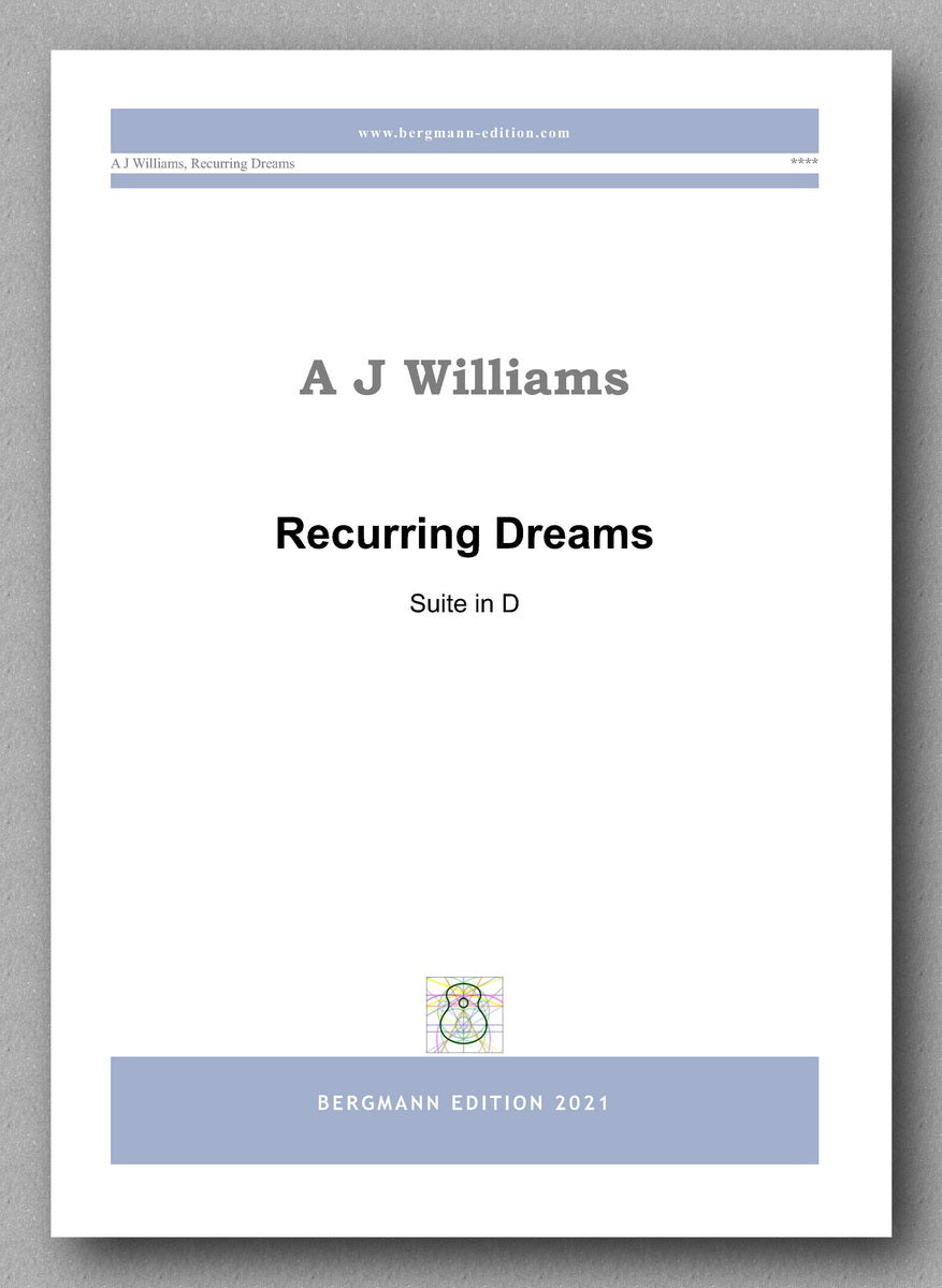 Andrew Williams, Recurring Dreams - cover
