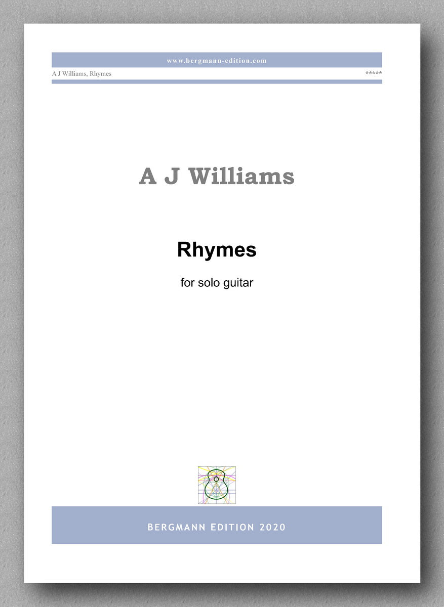 Andrew Williams, Rhymes - preview of the cover
