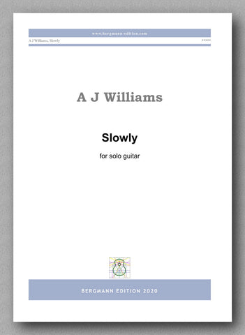 Andrew Williams, Slowly - preview of the cover