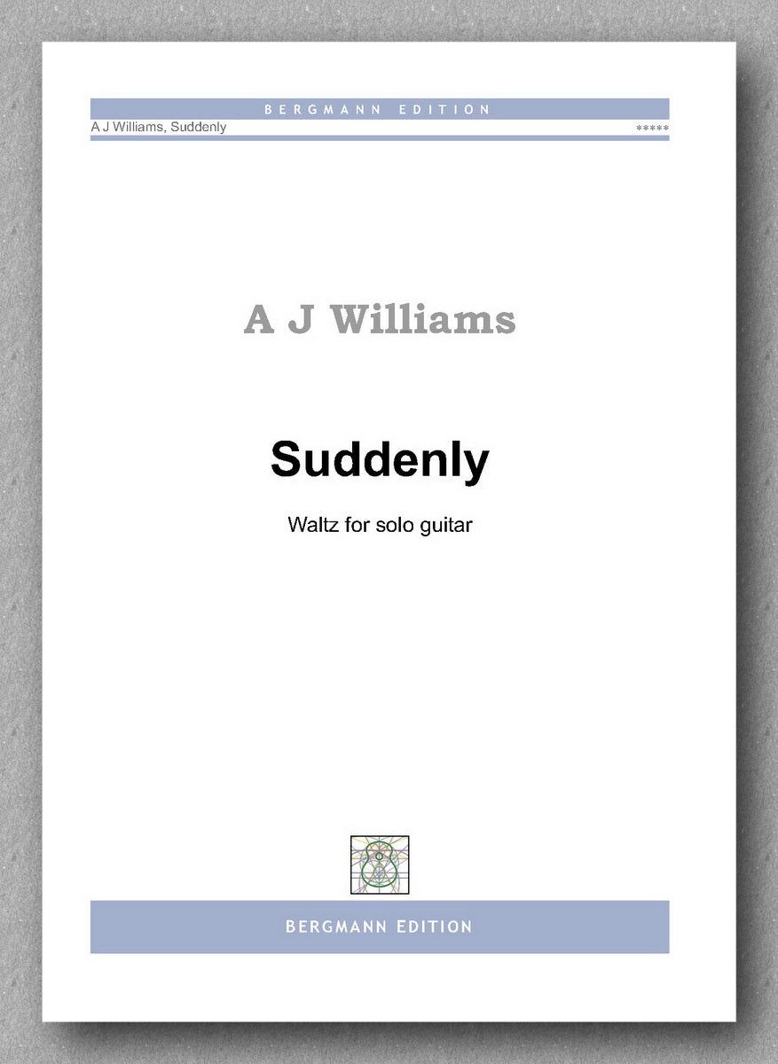 Andrew Williams, Suddenly - preview of the cover