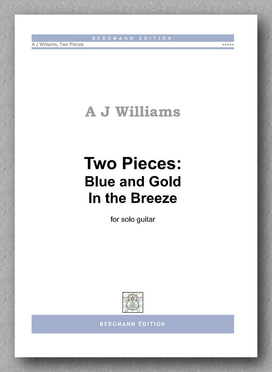 Andrew Williams, Two Pieces: Blue and Gold and In the Breeze - preview of the cover