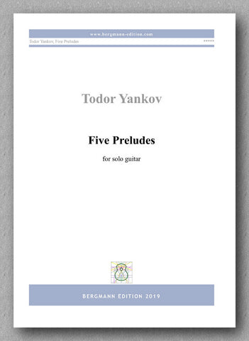 Todor Yankov, Five Preludes - preview of the cover