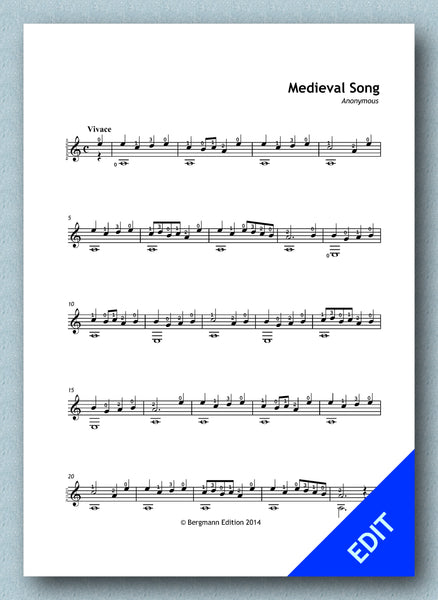 Medieval Song (pdf)