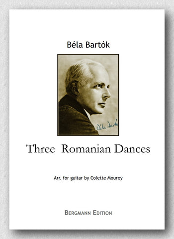 Bartok-Mourey, Three Romanian Dances