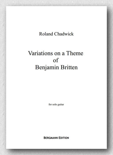 Chadwick, Variations on a Theme of Benjamin Britten