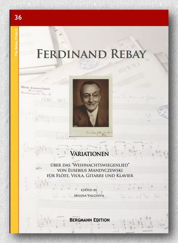 "Rebay [036], Variationen über das ""Weihnachtswiegenlied"" - preview of the cover"