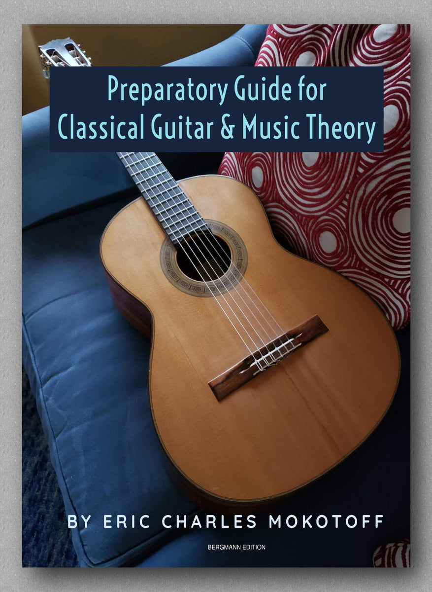Preparatory Guide for Classical Guitar & Music Theory - preview of the cover