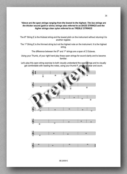 Preparatory Guide for Classical Guitar & Music Theory - preview of the text 2