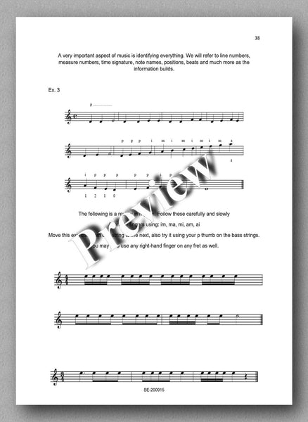 Preparatory Guide for Classical Guitar & Music Theory - preview of the text 3