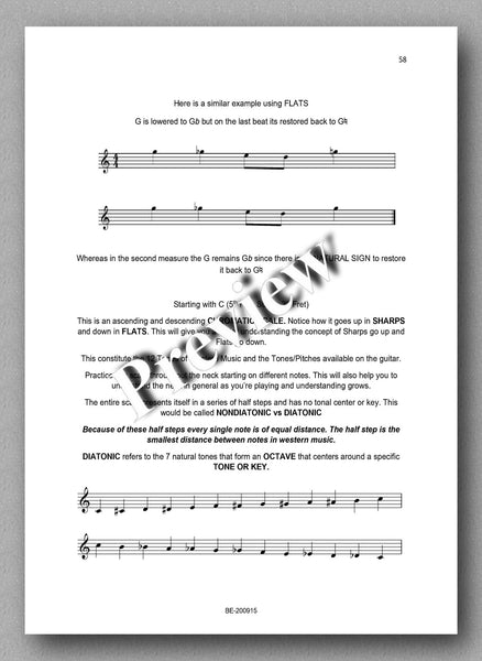 Preparatory Guide for Classical Guitar & Music Theory - preview of the text 4