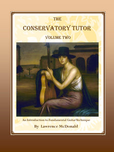 The Conservatory Tutor Vol. 2, Lare McDonald - cover