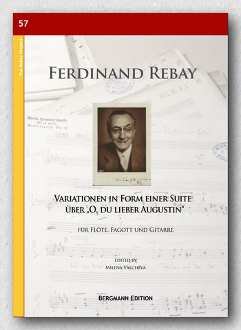 "Rebay [057], Variationen in Form einer Suite über ""O, du lieber Augustin"" - preview of the cover"