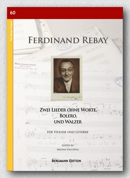Rebay [060], Zwei Lieder ohne Worte - preview of the cover.
