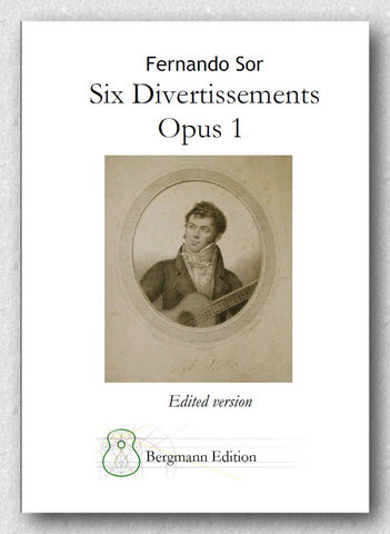 Sor, Six Divertissements, Opus 1