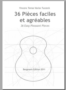 Tuczeck, 36 Pieces Faciles Agreables