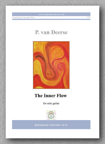 Peter van Deerse, THE INNER FLOW - preview of the cover
